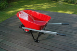 red wheel barrow 1 poster