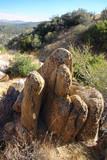 rock formation landscape poster