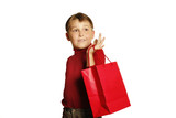 shopping for gifts poster