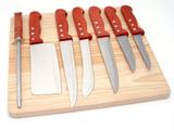 set of knifes poster