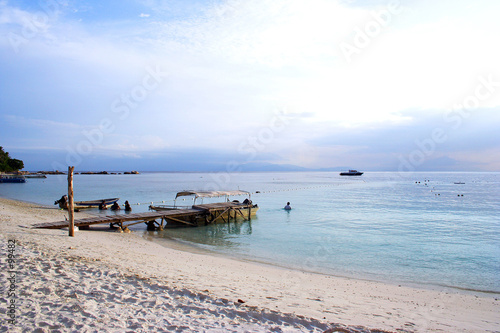 canvas print picture seaside scenery