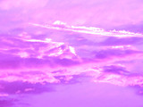 pink clouds poster