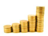 Fototapeta pieniądze - złoto - Inne Przedmioty