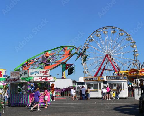 Leinwanddruck Bild county fair