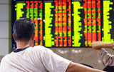 stock market index poster