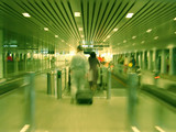 boarding - blur poster