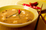 hot and  sour chinese soup poster