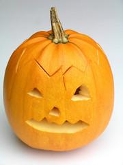 halloween pumpkin ready for trickortreat