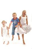 kids having fun poster