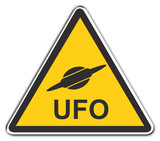 attention ufo poster