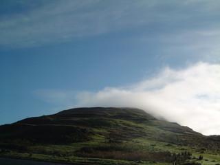 cloud breaking