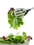 mixed lettuces poster