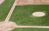 baseball field. poster