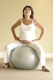 pilates for pregnancy poster