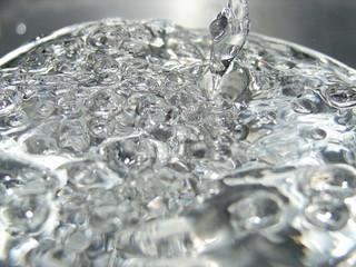 rustles water