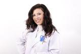smiling nurse poster