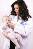 medicating baby poster