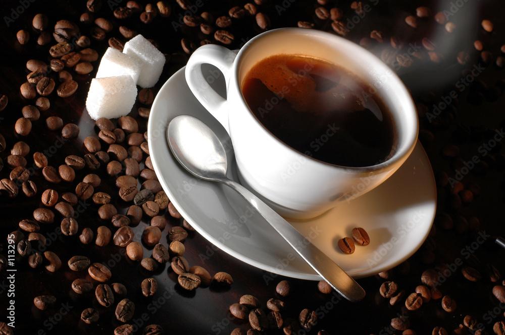 Czas na kawę - powiększenie