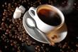 Leinwanddruck Bild - coffee