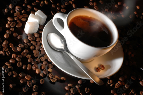 canvas print motiv - Dušan Zidar : coffee