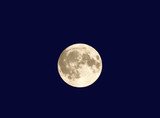 the midsummers eve full moon 21.6.2005. poster