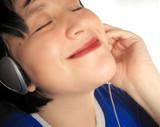 music listening poster