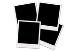 polaroid films (with clipping path) poster