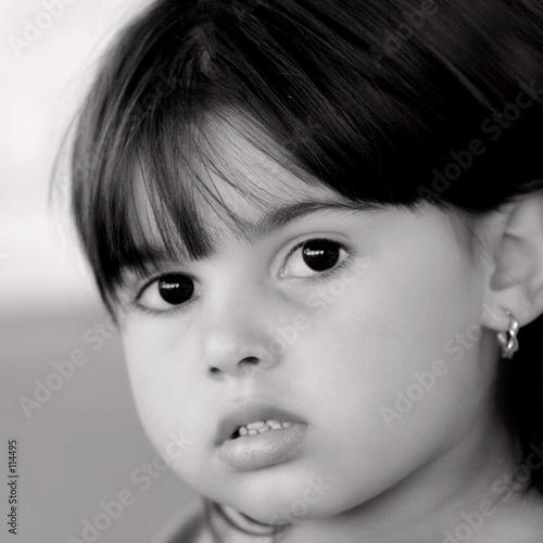 eyes as  black as coal