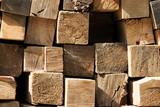 lumber pile poster