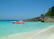 speed boat on blue sea