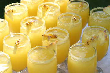 pineapple coctails