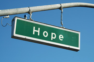 hope sign