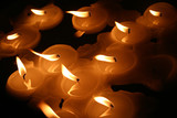 floating candles poster