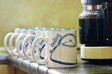 coffee mugs poster
