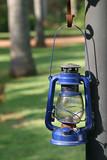 blue storm lantern poster