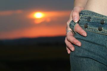 sunset jeans
