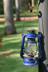 blue storm lantern