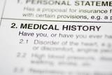paperwork #1 - medical history poster