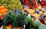 etal de fruits poster