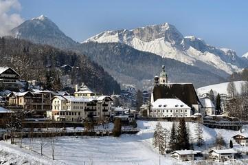berchtesgaden mit untersberg