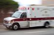 canvas print picture - ambulance #1