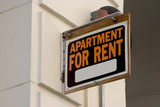 apartment for rent sign poster