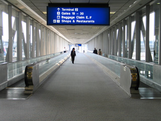 corridor in jfk airport
