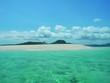 ilot sable blanc