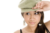 wearing hat poster
