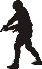 s.w.a.t. silhouette