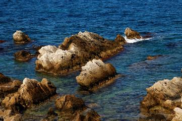 rochers côtier