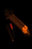 luminous syringe poster