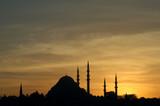 suleymaniye mosque poster