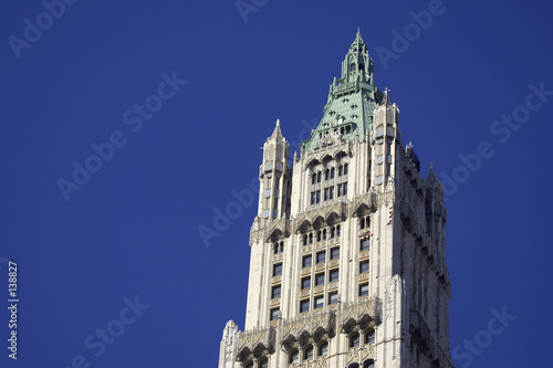 top of the woolworth building